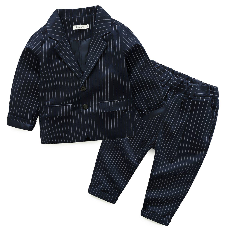 Zimaes-Men British Style Gentleman Classic Jacket Vest /& Trousers