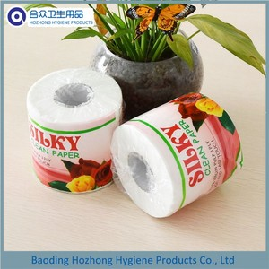 Customized Soft Virgin Wood Pulp Toilet Paper Bath Tissue