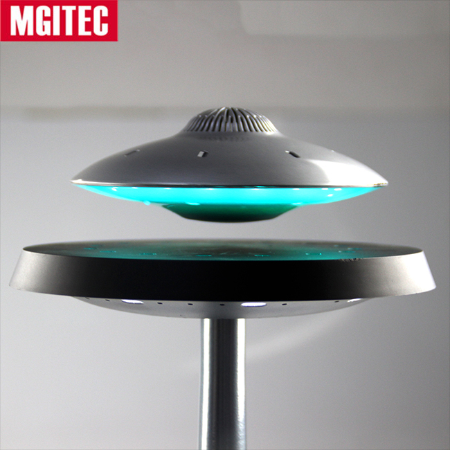 Mgitec Una Qualità Audio Superiore 2018 UFO Speaker 360 Gradi Hifi Surround Sound Galleggiante Magnetico Leviating Bluetooth Speaker