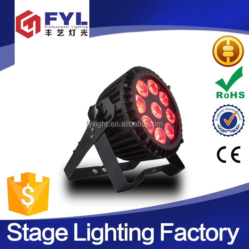 Popular design 9x15w RGBWA+UV 6in1 par can stage led light