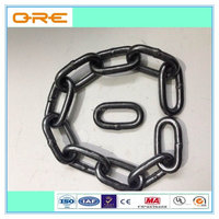 "Galvanized 20Mn2 Material G43 3/8"" Short Link Chain"
