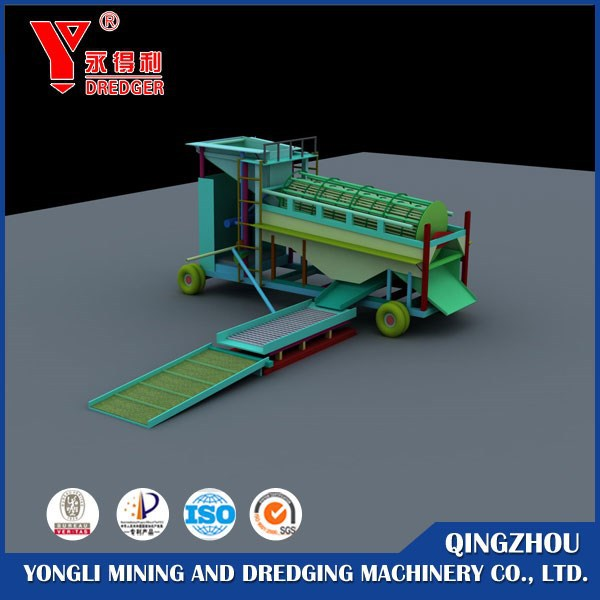 Portable Gold Mining/washing plant for sale