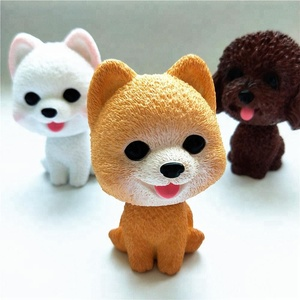 2018 kids toys Cute bobble head dolls dogs Car Decoration shaking head toy dog manufacturer