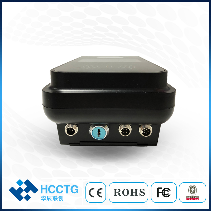 Linux 3.0 System Bus Validator UHF RFID Card Reader with QR Code P18-L2