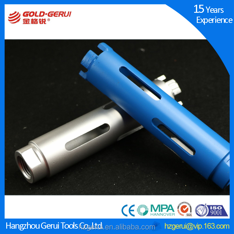 Premium professional quality Dry diamond core drill bits for hard rock from factory supply