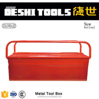 Factory Supplier High Quality Portable Job Site Tool Box, Steel Tool Boxes