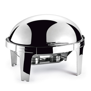 Stainless steel chaffing dishes high quality oval roll top chafing dish
