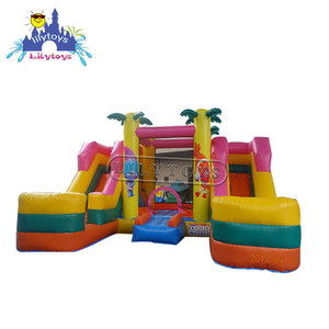 Customized size Inflatable Bouncer Slide Combo