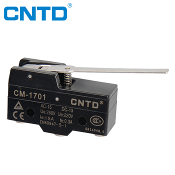 CNTD CE /TUV Approved High Accuracy Long Handle Type Waterproof Micro Switch Z-15GW-B (CM-1701)