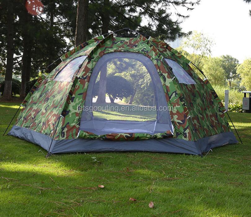 7dc336ba2 Camuflagem Militar Barraca Da Família de Acampamento Ao Ar Livre Caminhadas  Barraca de Acampamento Militar Tenda