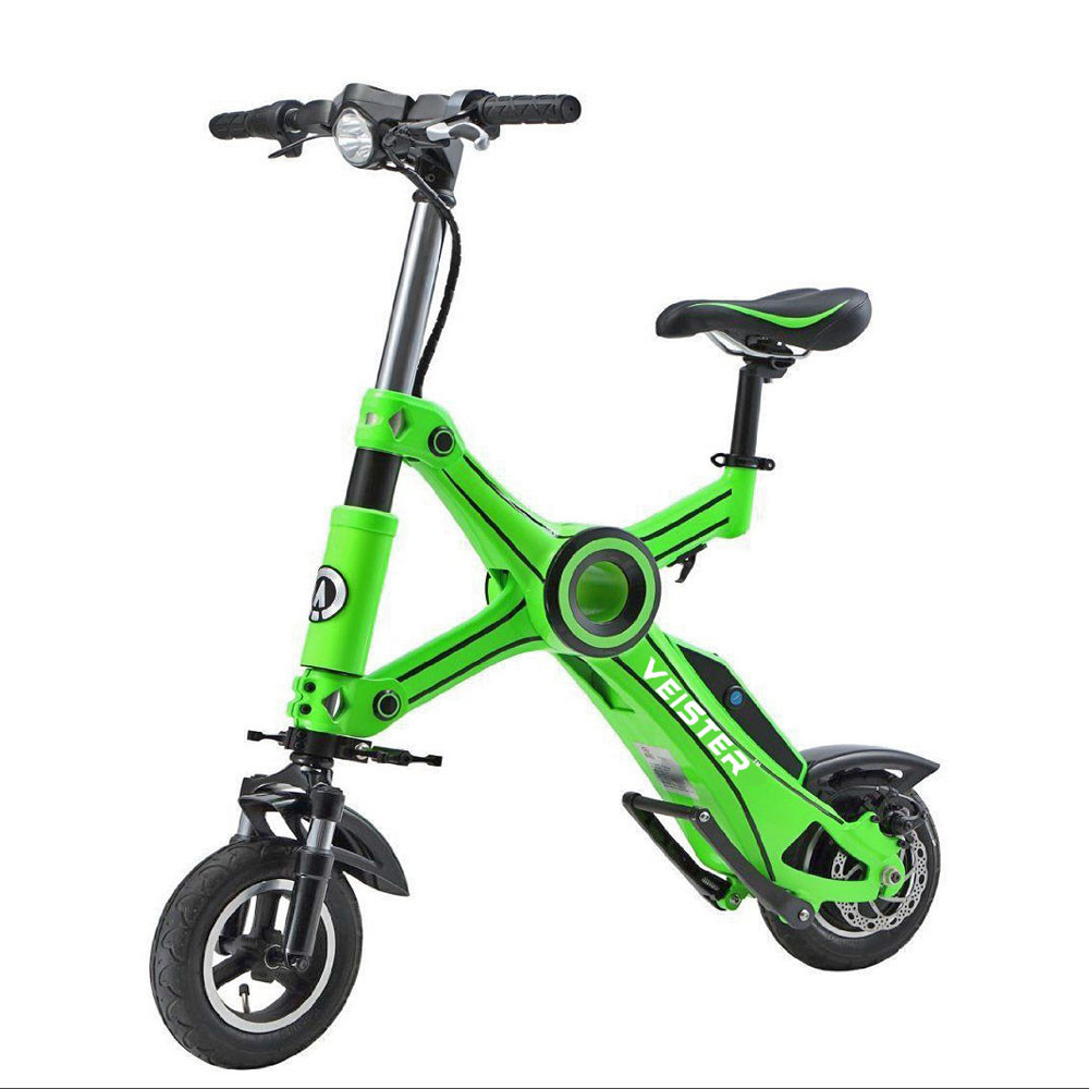 veister foldable mini electric scooter smart electric bike 27km h buy mini electric scooter. Black Bedroom Furniture Sets. Home Design Ideas
