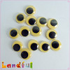 14mm Yellow Plastic Wiggle Eyes Googly Eyes Movable Eyes for Card Handmade