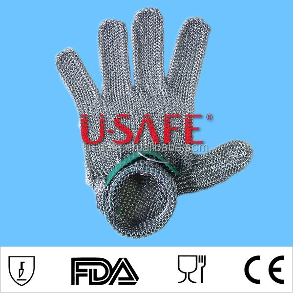 Chain Mail Cut Resistant Safety Gloves