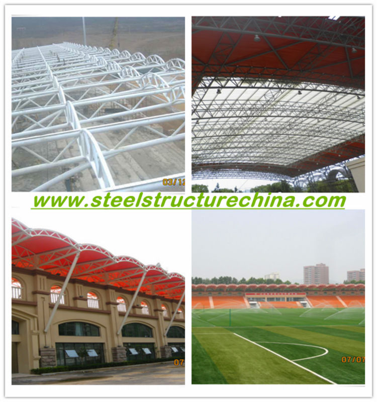 large space and span steel structure stadium/gym
