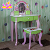 Beautiful Wooden dressing table with cheap price,Cheap wooden girls dressing table for bedroom furniture W08H024