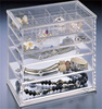Household Acrylic Tiers Storage Box for Decorations