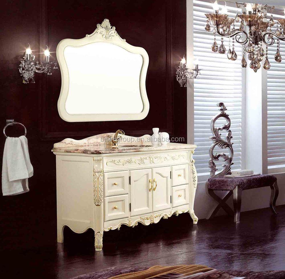 Salle De Bain Chez Tereva ~  L Gant Classique Style Europ En Antique Pur Blanc Bombe Poitrine