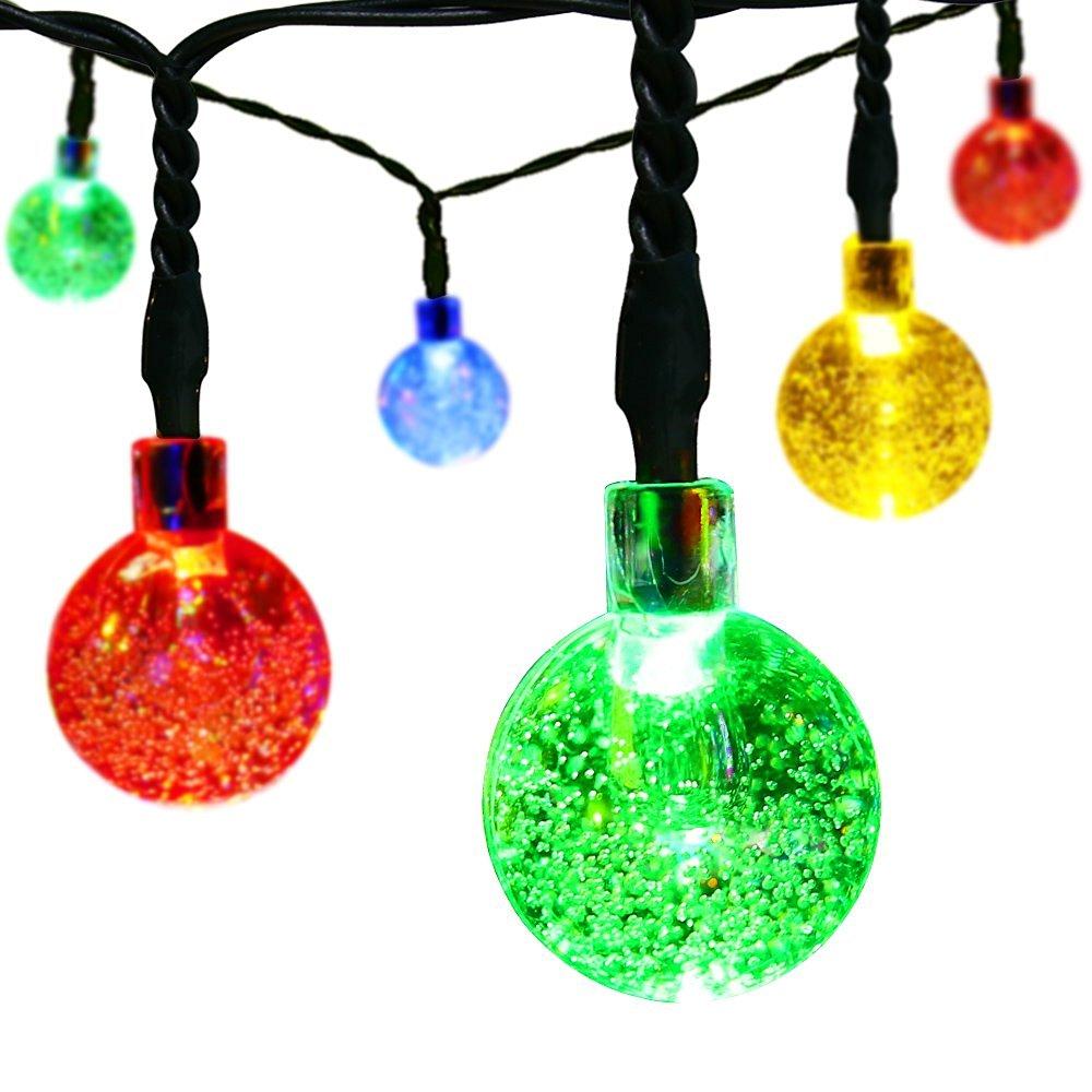 new product d3066 acd3d Amazon Hot Selling Muti-color Christmas 30 Led Crystal Ball Fairy Lights  Solar Powered Led Globe String Light - Buy Solar Ball String Lights,Led  Ball ...