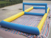 small Inflatable beach water Inflatable volleyball court area games