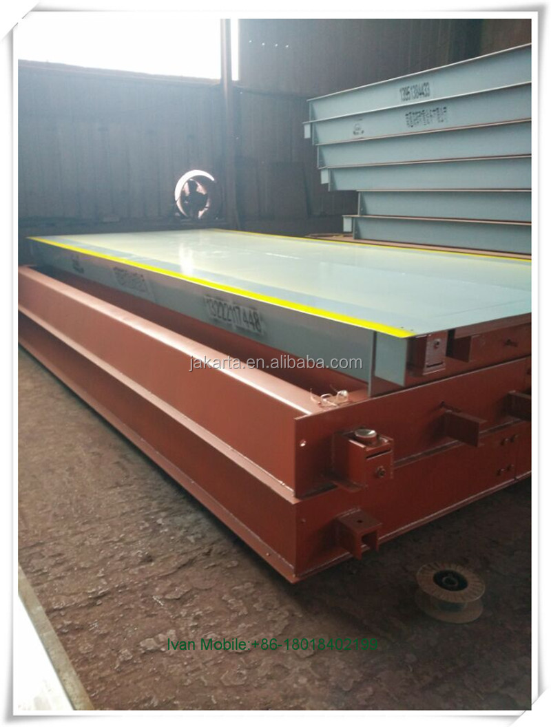 SCS electronic 200 ton portable truck scale for sale