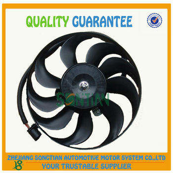 Auto Parts 1j0 959 455m 12v Radiator Cooling Fan For Vw Bora&golf4 ...