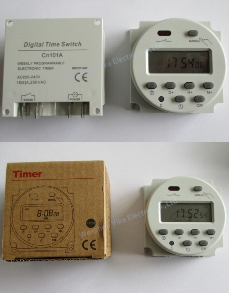 Yika Cn101a Count Down Timer Switch 240v Countdown 24 Hour