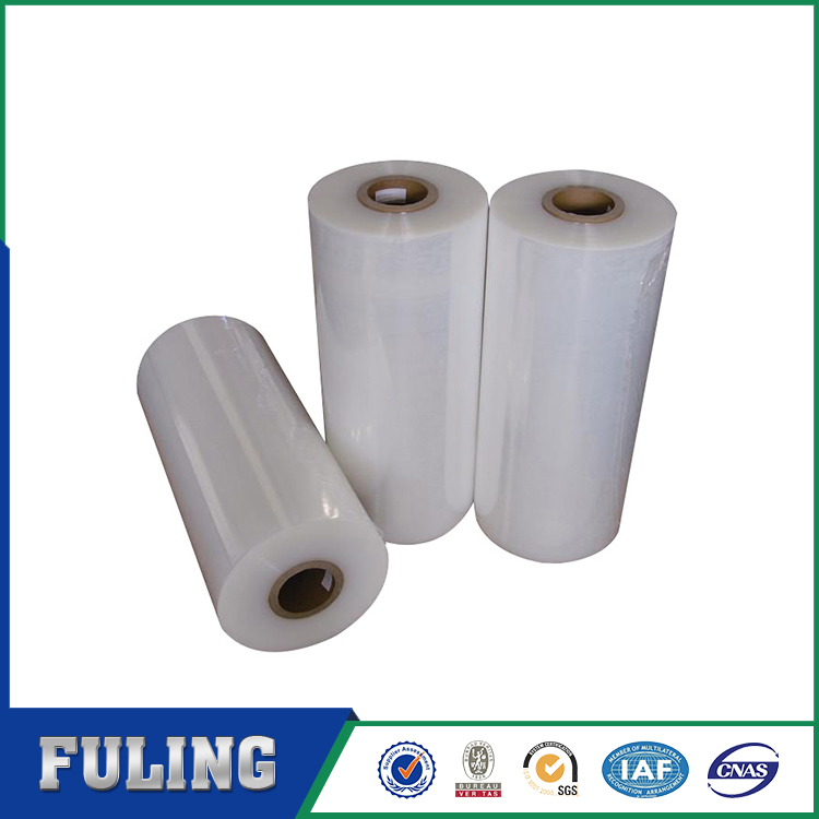 New technology clear heat shrink resistant plastic film for food