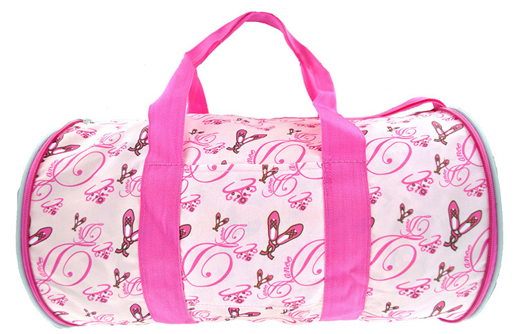 Trendy Carrying Sublimation Pattern Ballet Dance Bag For Girls