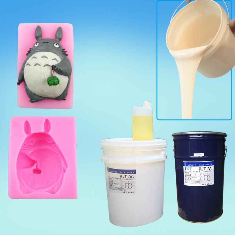 Liquid Rtv Silicone Rubber Plastics Raw Material For
