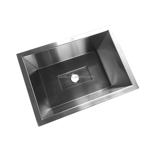 Inox italian custom size stainless steel kitchen sink guangzhou