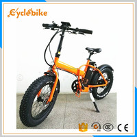 SAMSUNG brand cell 48v hidden battery 500w folding fat electric bike bicycle