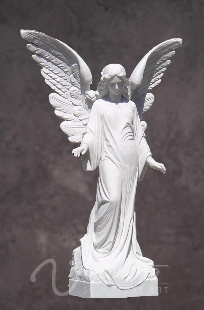 garten decor steinmetzarbeiten und skulpturen sch ne wei e marmor engel statuen gro handel. Black Bedroom Furniture Sets. Home Design Ideas
