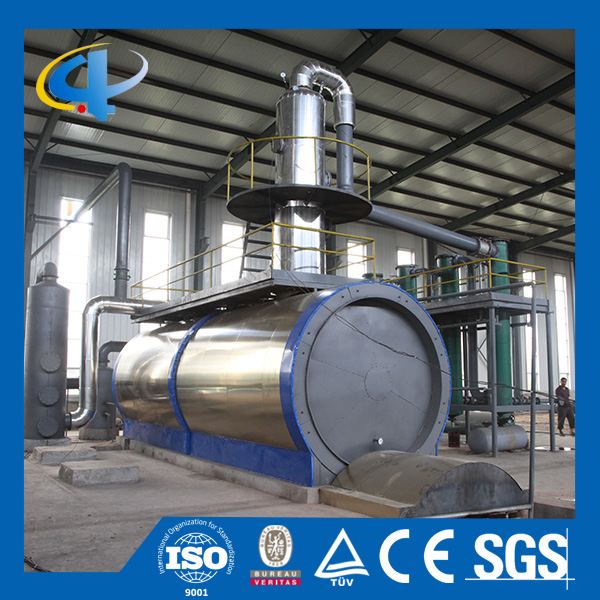 crude oil&used engined oil&fuel oil refinery equipment with large capacity