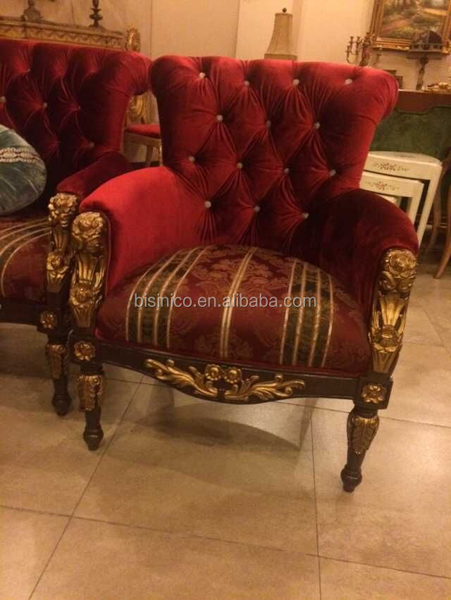 Enjoyable Great British Style Palace Single Sofa Chair Hand Carved Wood Side Chair With Gold Leaf Luxury Living Room Furniture Set Buy Antique Hand Carved Machost Co Dining Chair Design Ideas Machostcouk