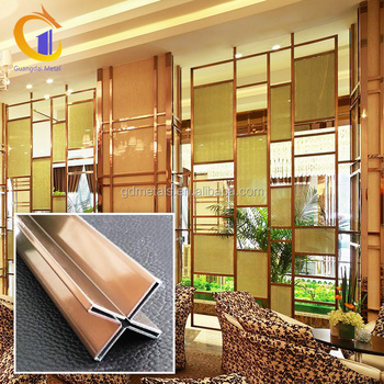 Customized Stainless Steel Patterns Interior Decorative Art Metal Panels