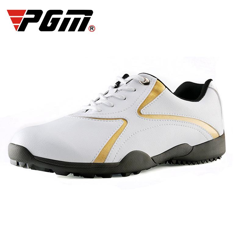 2019ปรับแต่งมืออาชีพPGMผู้หญิงรองเท้ากอล์ฟสำหรับผู้ชายขายส่งบุรุษรองเท้ากอล์ฟผู้หญิง