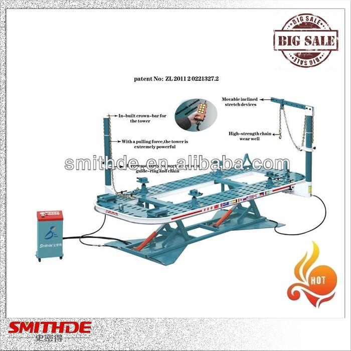 frame alignment machine