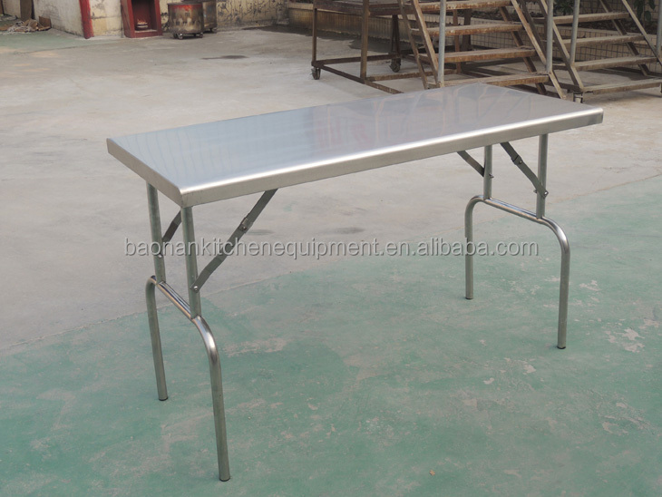 Outdoor Leisure Equipment Best Choice Stainless Steel Camping Kitchen With Folding  Table (CosBao)