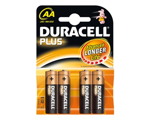 Aaa Duracell Simply Batteries - 4 Pack