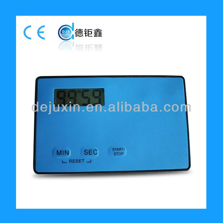 2015 fashional credit card countdown timer display