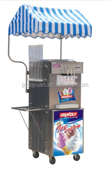 Newe Type Commercial Automatic Italian Ice Cream Vending Machine ...