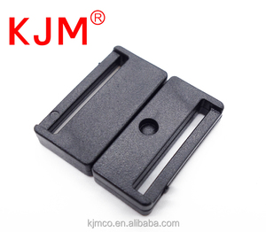 Factory Plastic POM Front Press Side Release Buckle for Tags Rope