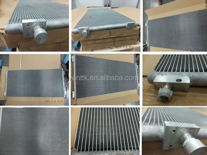 Auto Aluminum Microchannel Radiator Coil For Car Air Conditioning ...