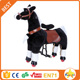 Funtoys CE Mechanical horse toys ,bouncing horse toy,black horse toy