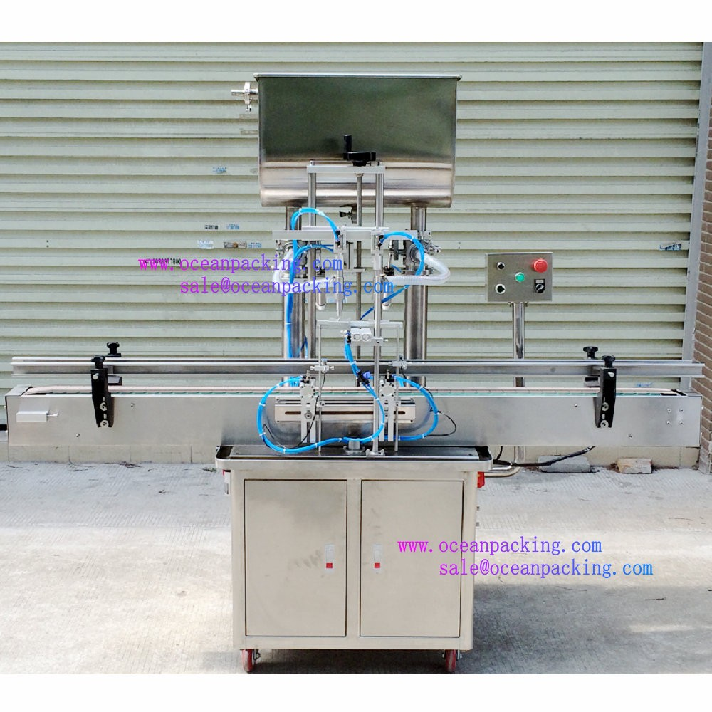 2 heads automatic cream filling machine for production <strong>line</strong>