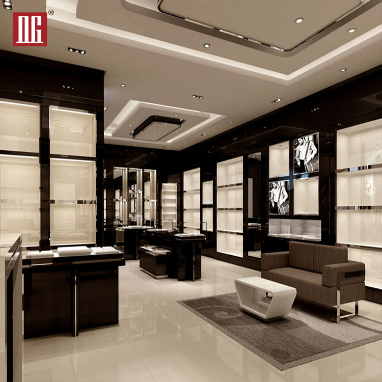 High End Luxury Shoe Store Display