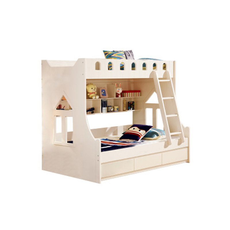 Cheap Latest Design Kids Bunk Loft Bed With Stairs And Desk - Buy Loft Bed  With Stairs,Bunk Bed With Stairs,Kids Bunk Beds With Stairs Product on ...
