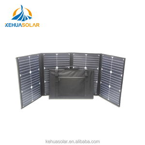 Foldable 80W 120W 160W Solar Panels Mono Poly PV modules Off grid Power System