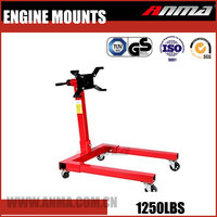 economical Customize adjustable hydraulic 1250LBS car engine repair stand AM121101250