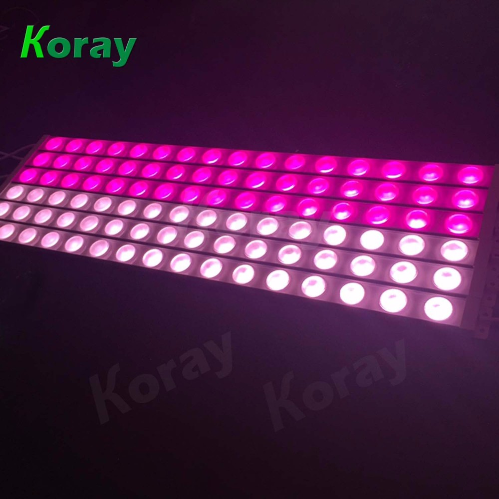 Hydroponic led grow lights bar indoor plant cabinets 120cm